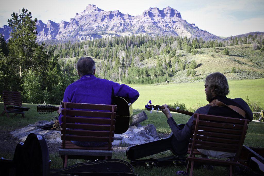 Music at the Bonfire: Ranch Life